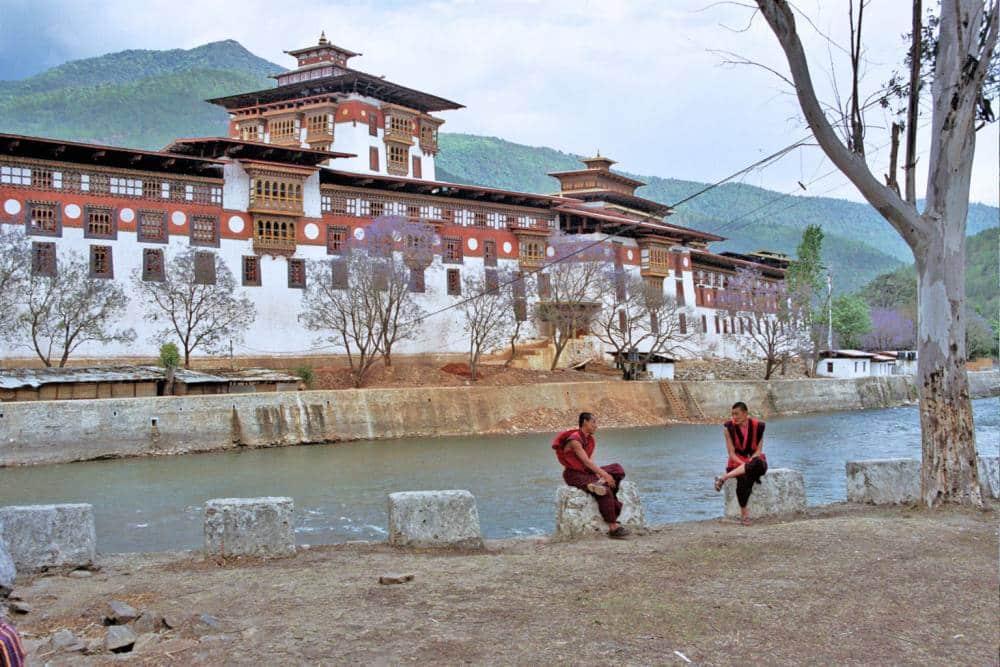 Punakha dzong bhutan travel