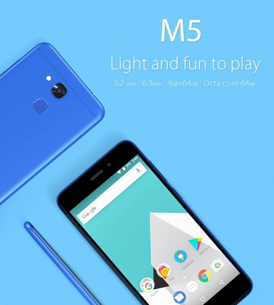 "<a href=""http://s.click.aliexpress.com/e/eqRNniE"" target=""_parent"">AliExpress.com Product - Vernee M5 MT6750 Octa-core Android 7.0 Cellphone 4G RAM 64G ROM 5.2 Inch 13MP 3300mAh 4G Dual SIM Fingerprint Sensor Smartphone</a>"