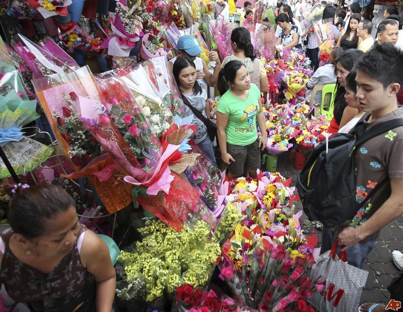 manila flower market