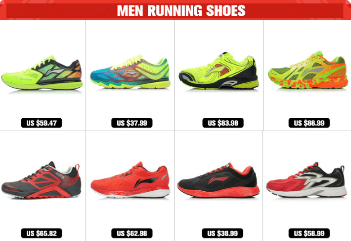 running shoes aliexpress