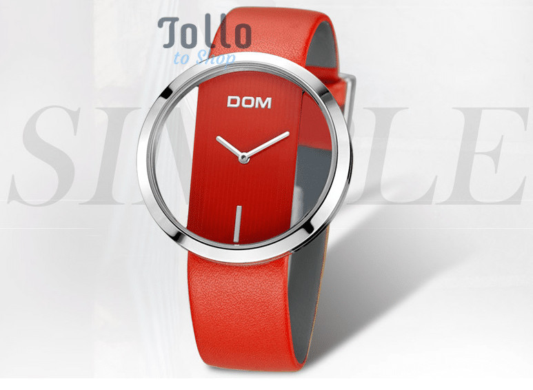 red trendy watch to buy