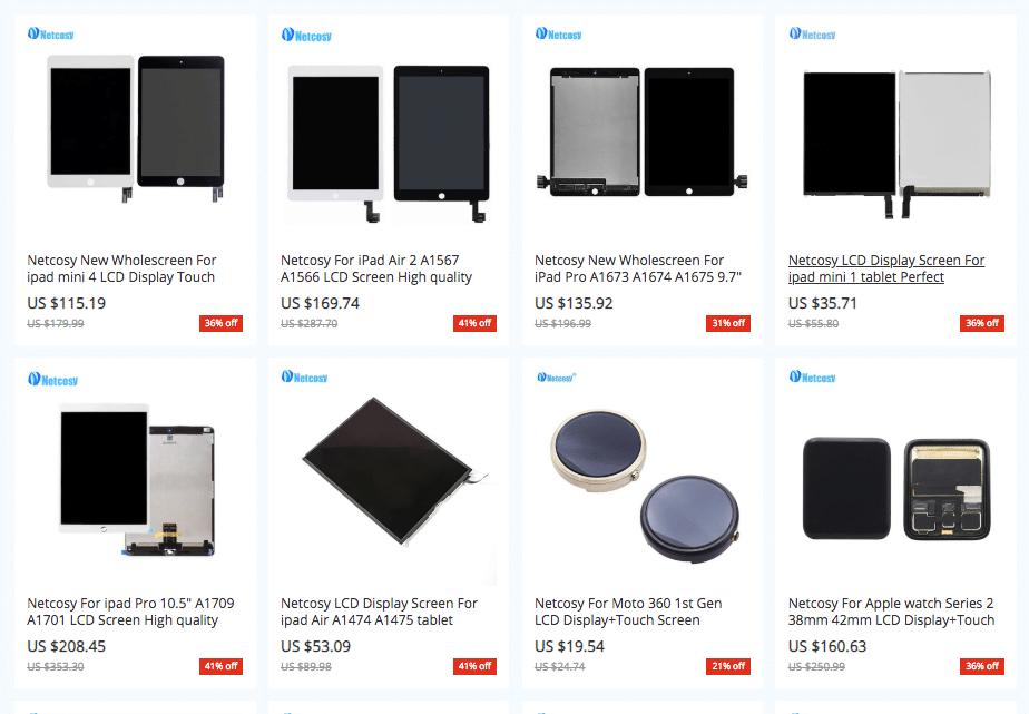 ipad parts supplier