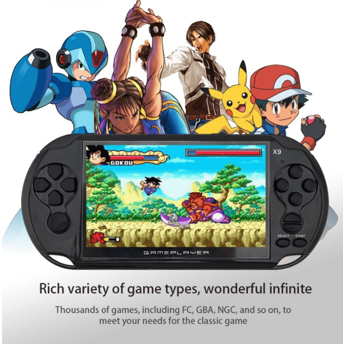 handheld console games review