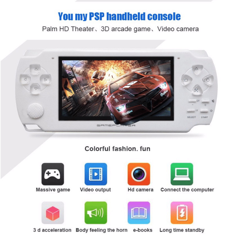 handheld game console aliepxress