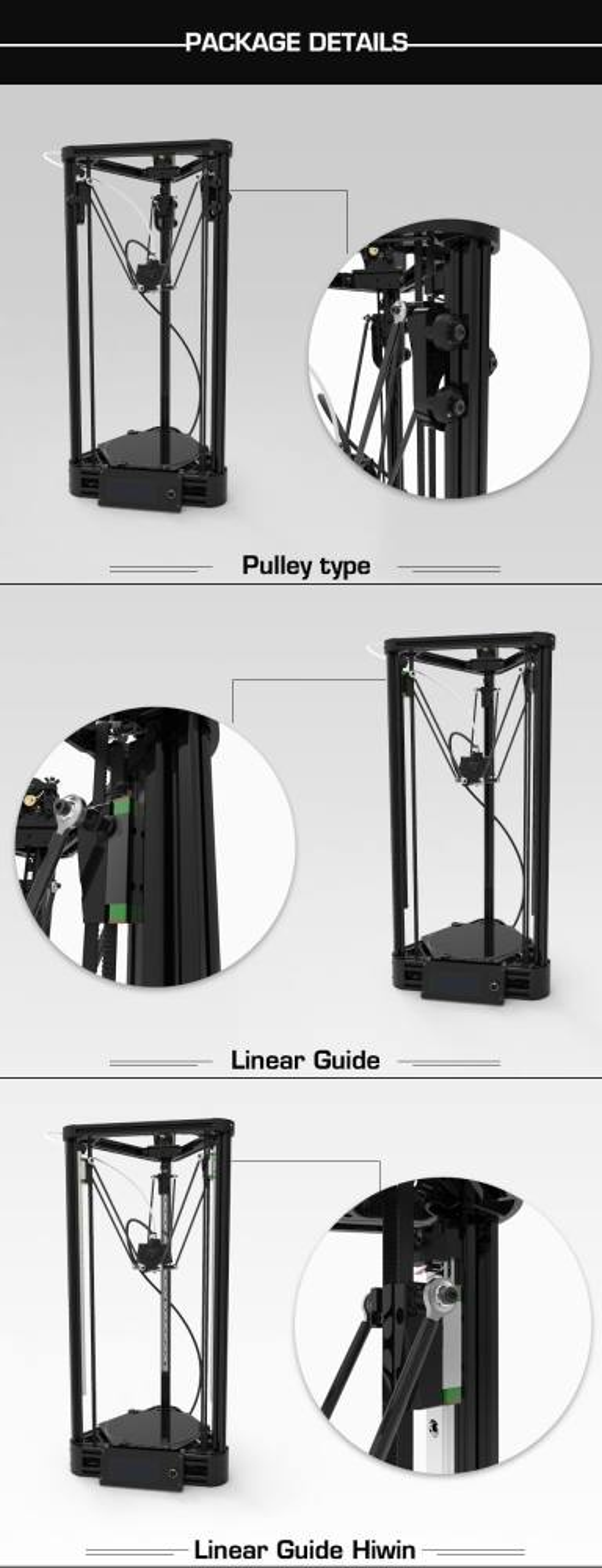 PULLEY 3D PRINTER