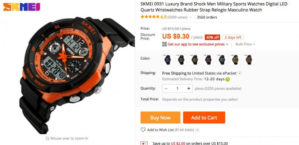 aliexpress taobao price comparison