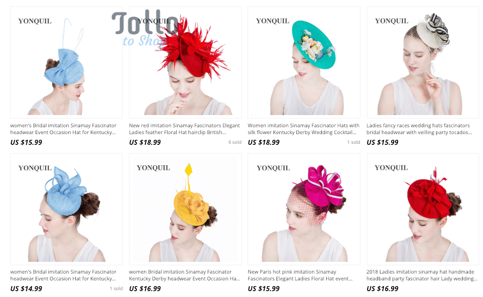 cheap church hats wholesale