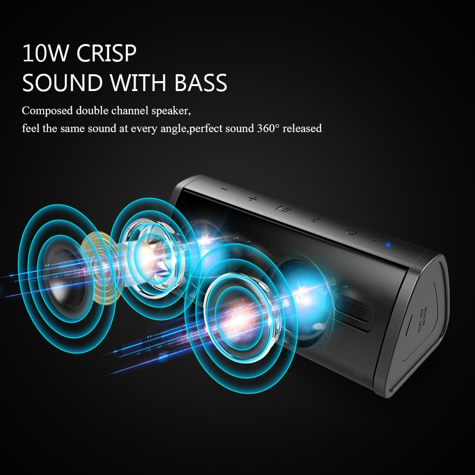 china speaker with good bass bluetooth budget
