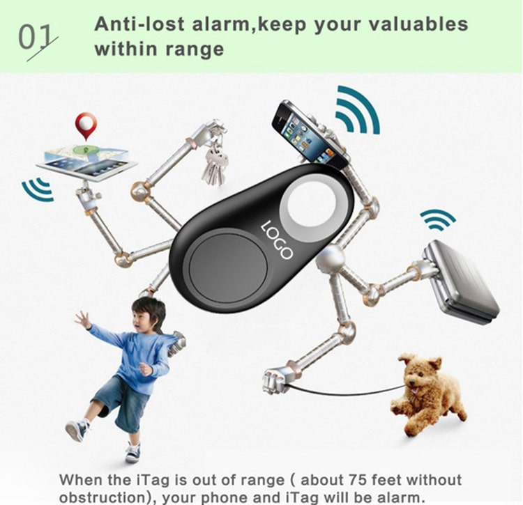 anti lost smart key