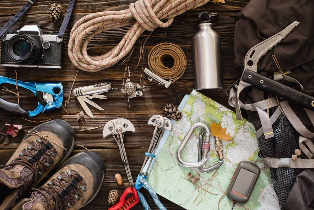 hiking and camping equipment to buy online