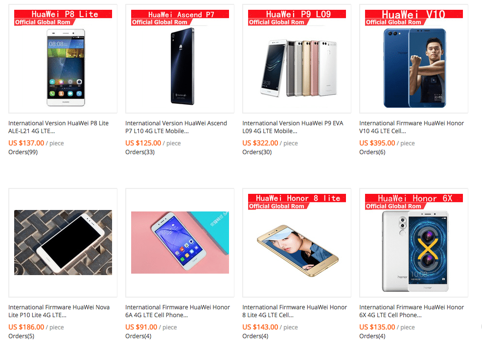 huawei prices china