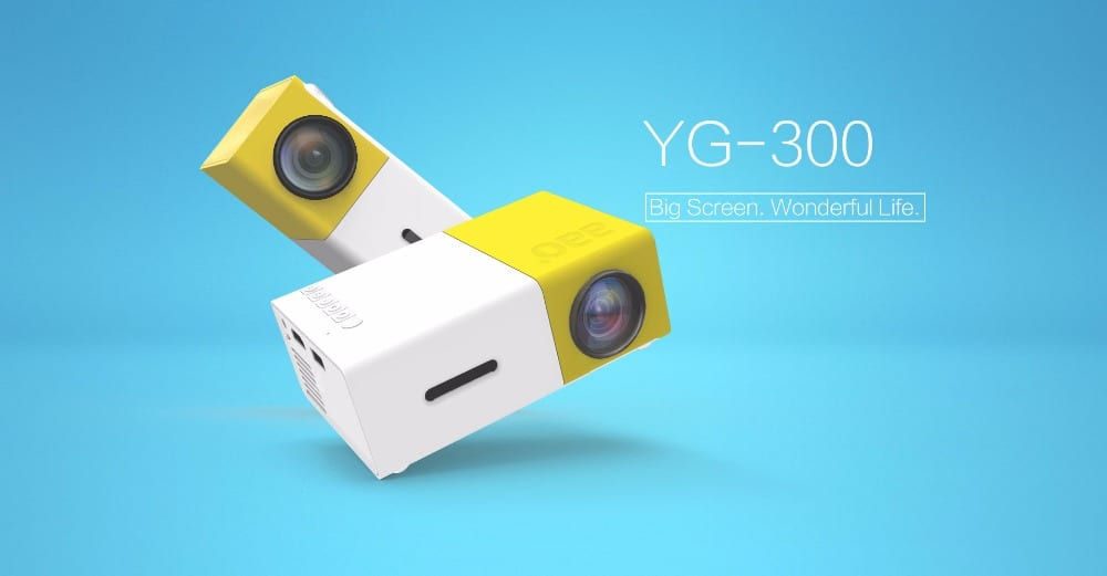 projetor mini led