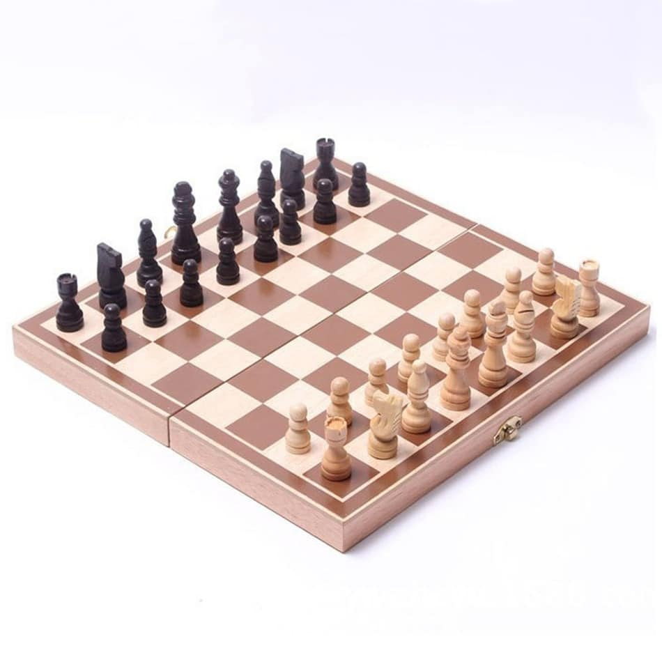 Wooden International Chess Set Board Game
