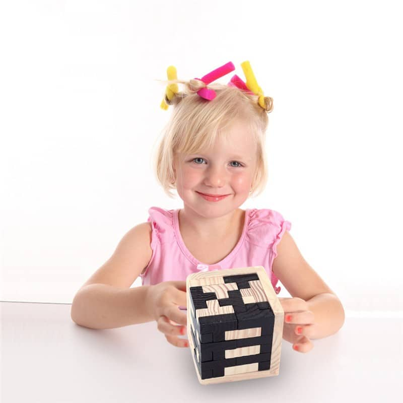 kids block toy wooden