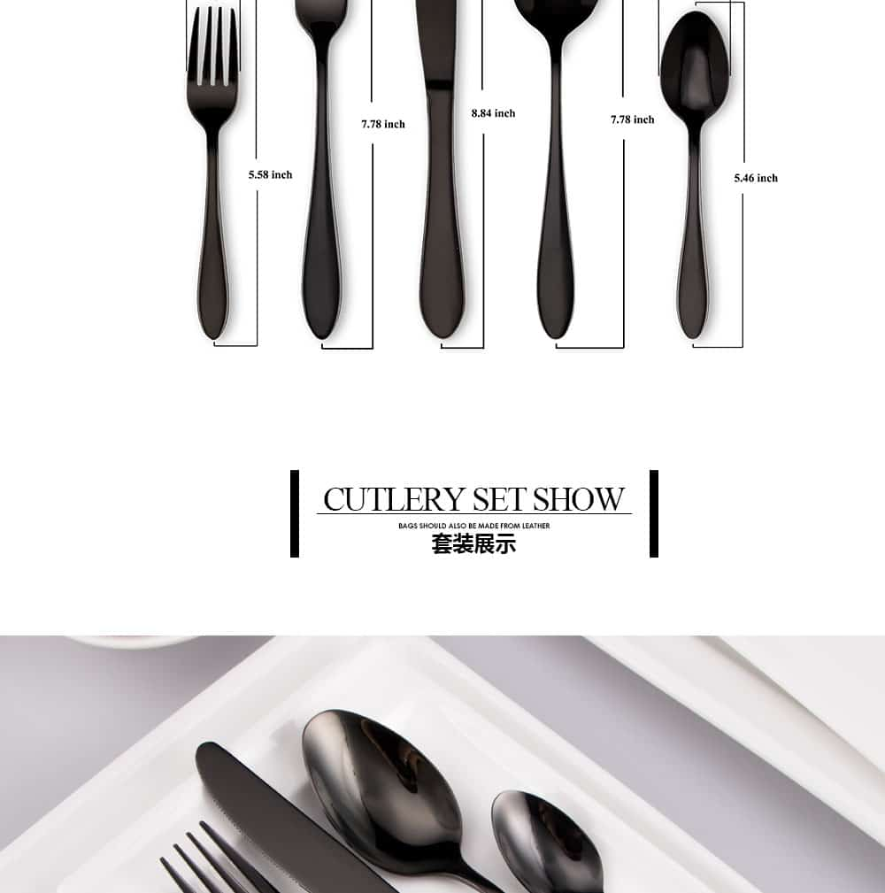cutlery set cheap homeware