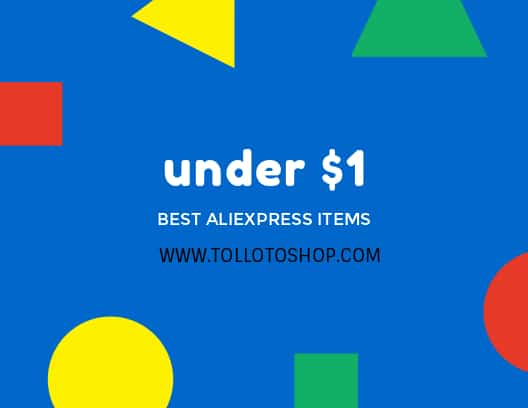 best awesome aliexpress products under $1