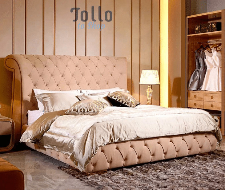 luxury leather bed aliexpress