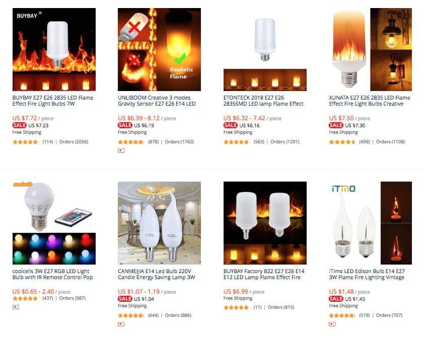flame lamp aliexpress