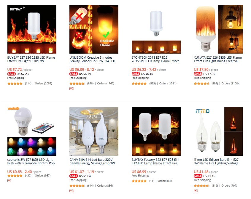 flame lamp aliexpress