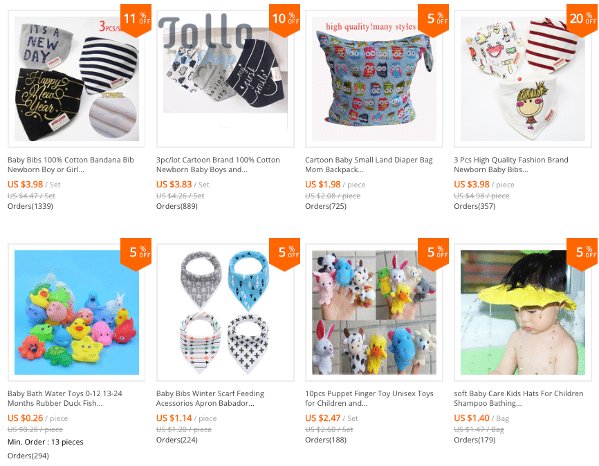 baby accessories chinese