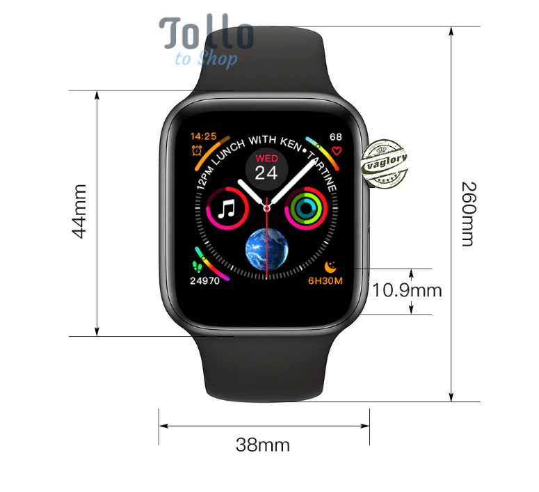 cb3000c3a86 Fake Apple Watch Series 4 just  70