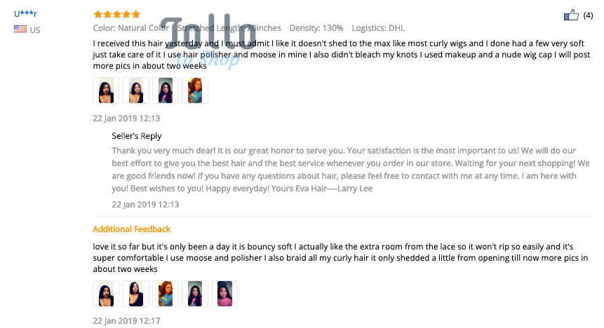 true review of buying hair wig from aliexpress