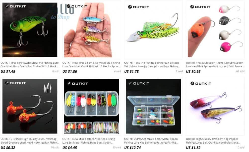aliexpress fishing lures