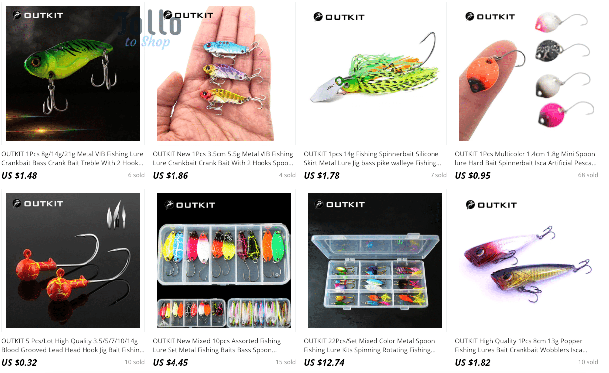 aliexpress fishing lures