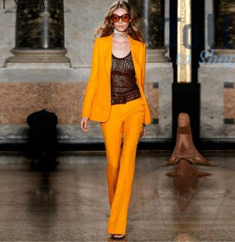 bold color suits for ladies