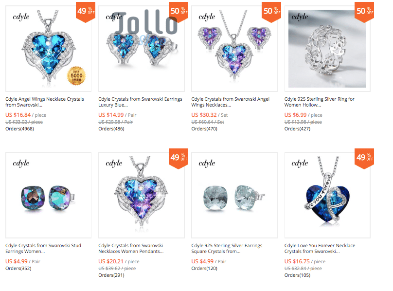 crystal necklaces aliexpress