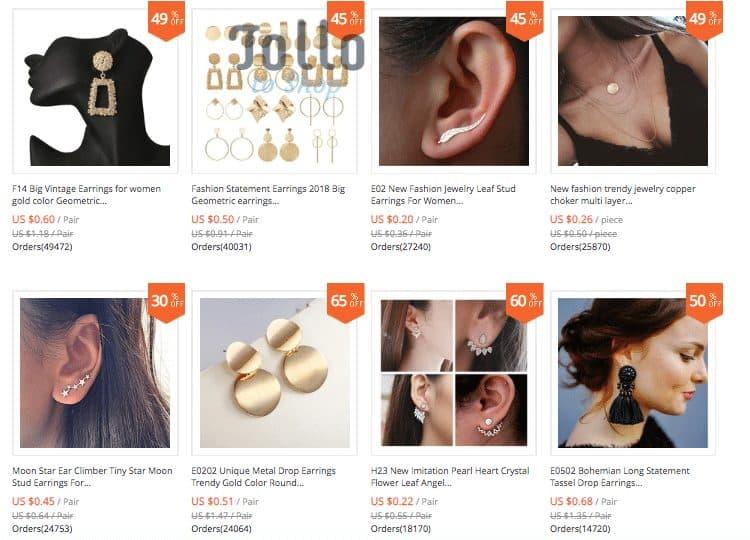 best earrings aliexpress