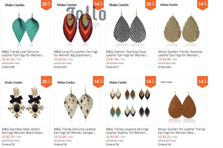 best earrings china wholesale