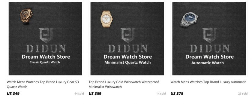 branded watches aliexpress
