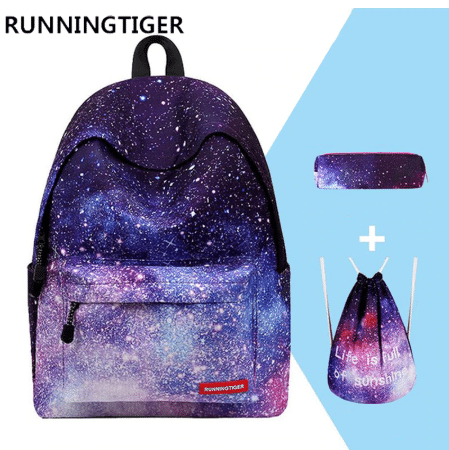 teenager girl school bags