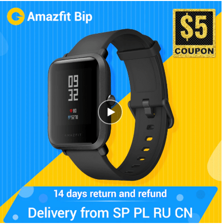 amafit smartwatch aliexpress