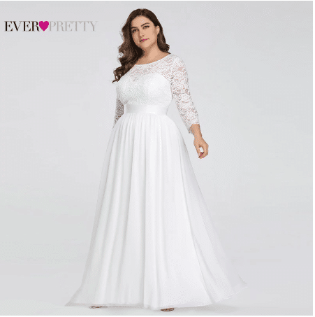 plus size wedding dresses aliexpress