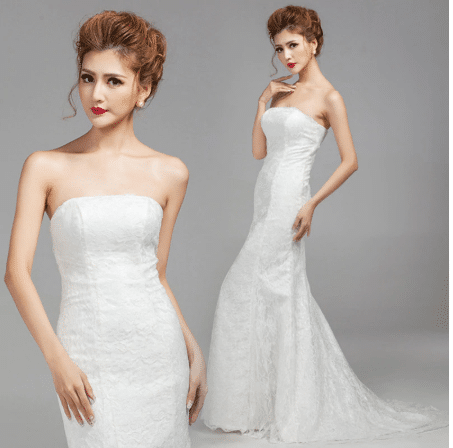 mermaid wedding gown aliexpress