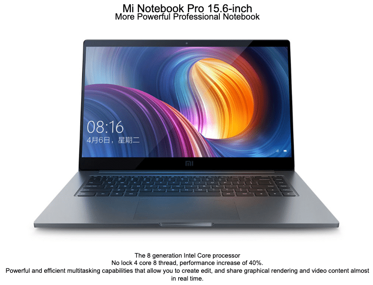 mi notebook review