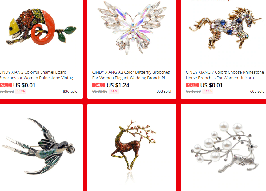 brooches aliexpress