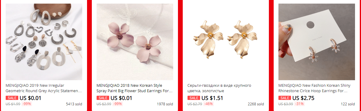 aliexpress korean jewelry