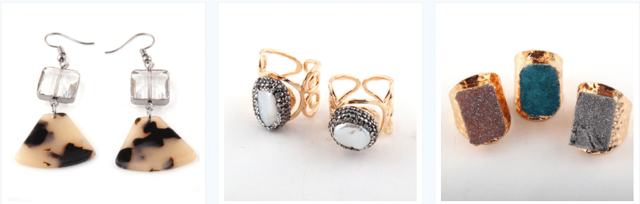 earrings top aliexpress