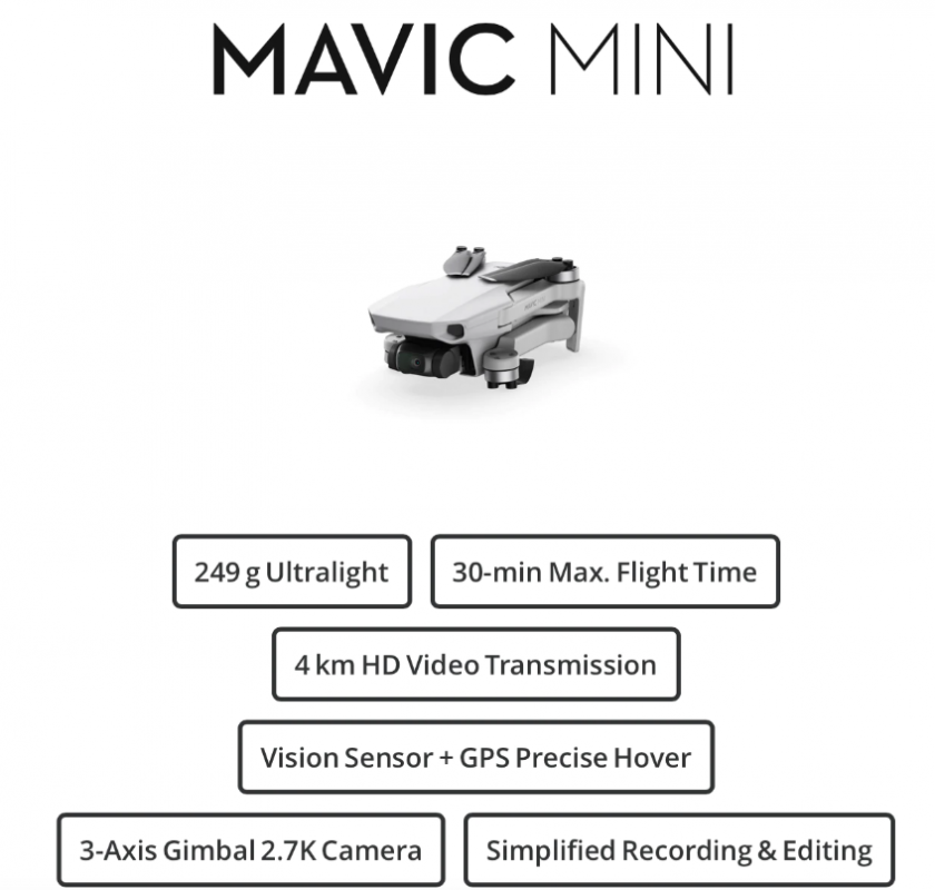 mavic mini drone