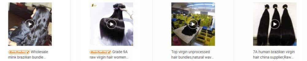 hair supplier china
