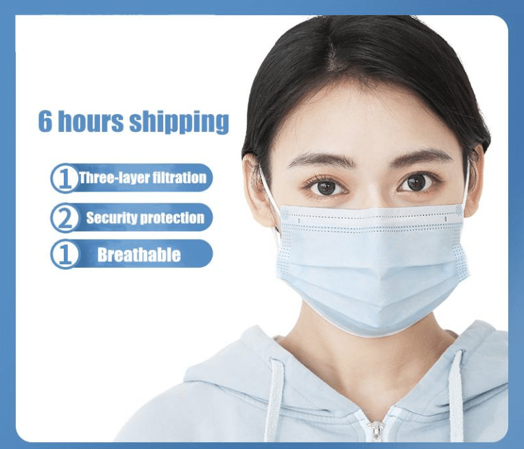 surgical mask fast shipping