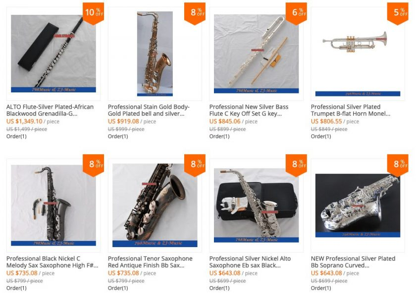 top chinese saxophones
