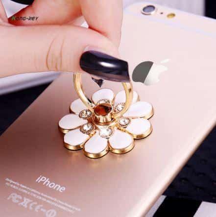 flower ring holder for iphone