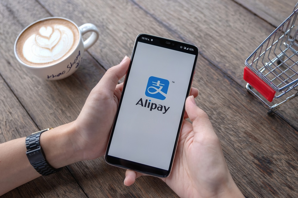 how to use alipay